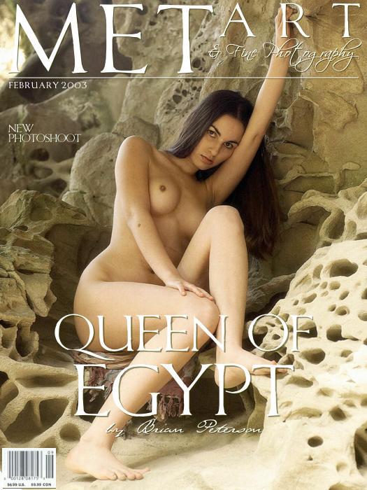 长的像埃及王后的嫩模Alyssa山岩外拍