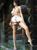 漂亮法国美女POLLINE外拍人体-2