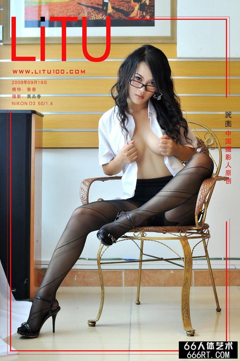 甜美嫩模蓉蓉09年9月19日室拍风骚黑丝