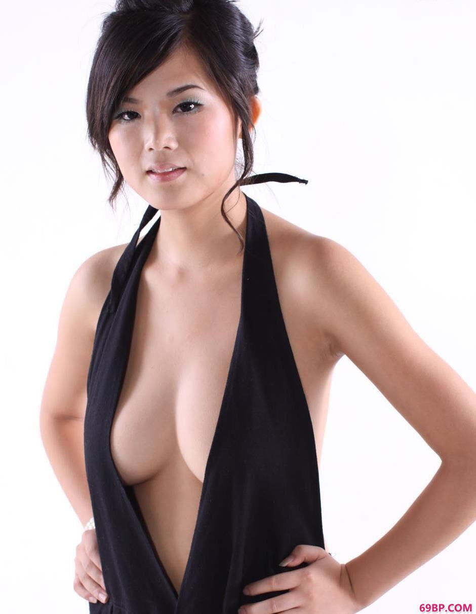 美人可馨室拍吊带性感人体1