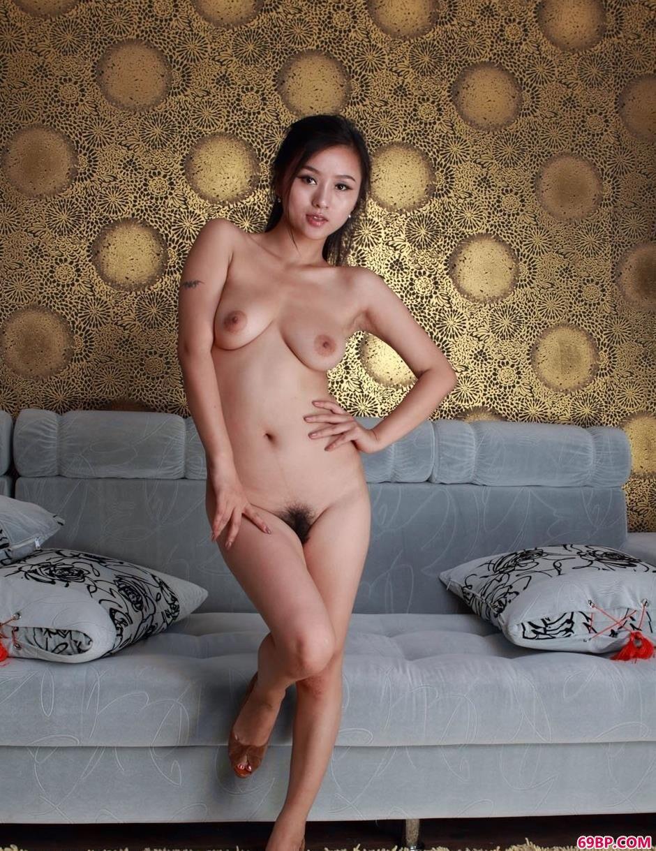 裸模心意美丽身材拍美体