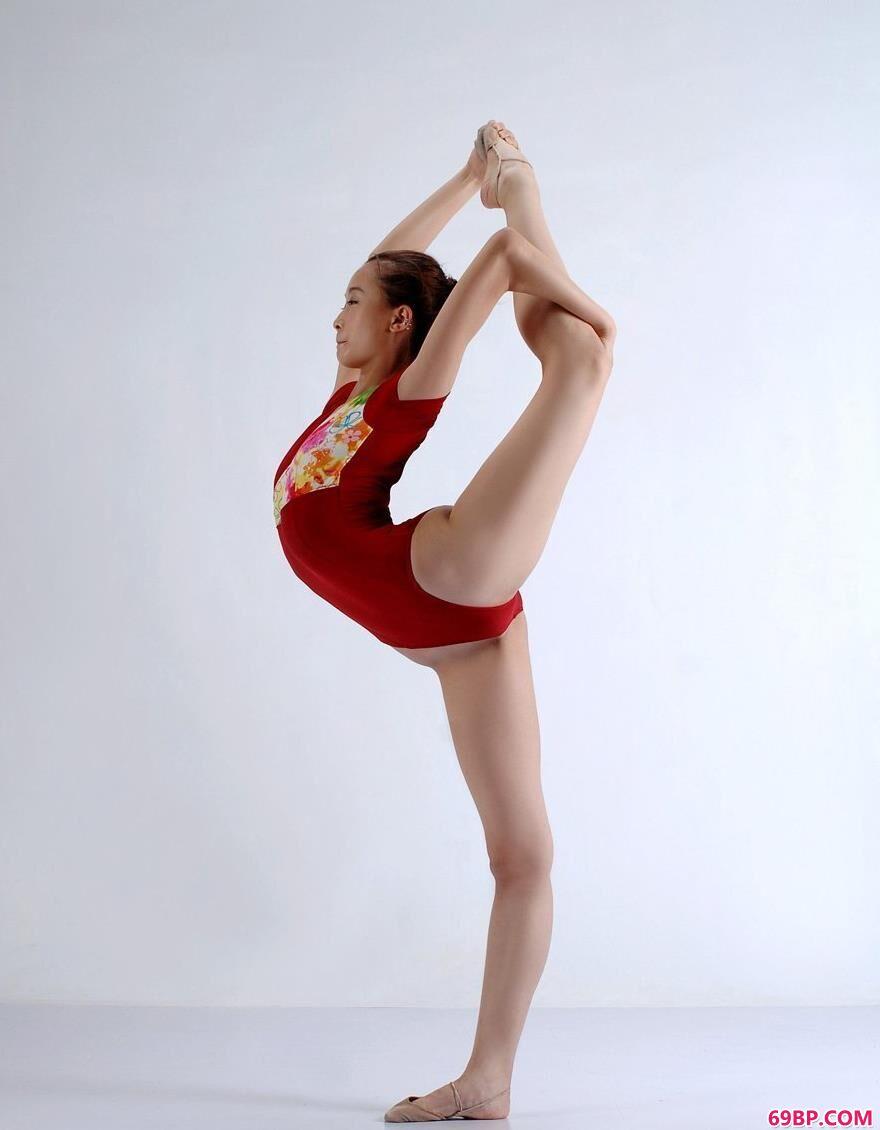 广东艺术体操队队员艺术之美4