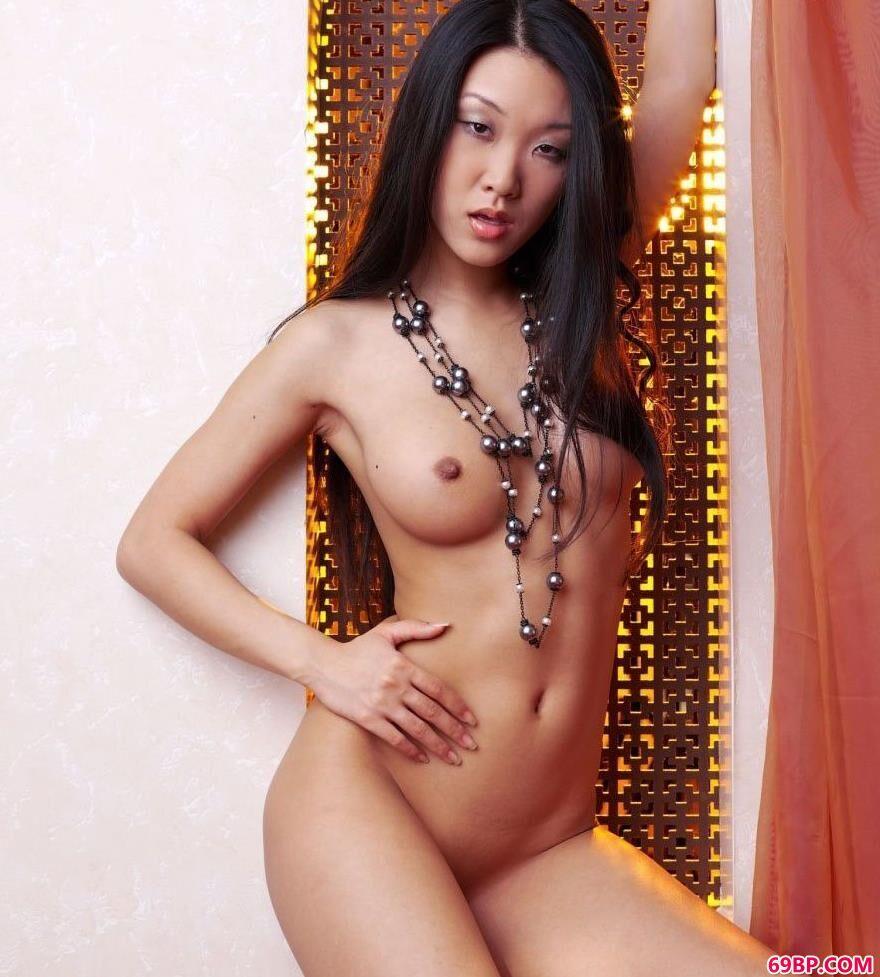 知名的亚裔人体超模MARIKO3_奥雷全部人体