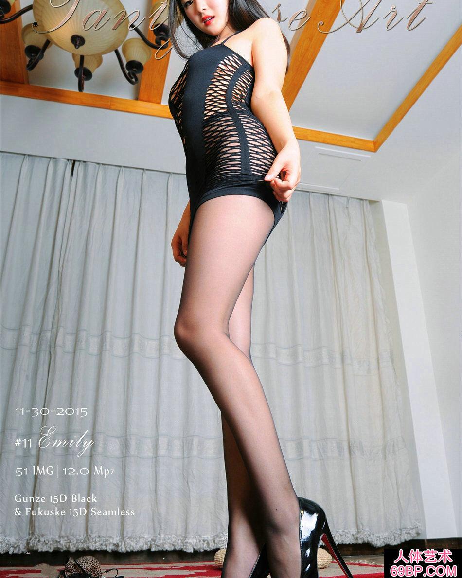 国产美模Emily肉丝丰臀惹火摄影