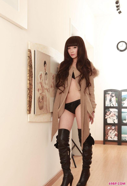 时尚的超模小虹_日本人术艺术337P
