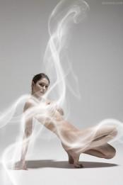 棚拍如仙似幻的幻境人体艺术二