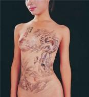 经典的各种样式的人体彩绘展