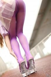 另类紫色丝袜,我的最爱