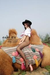 丝袜美女与骆驼